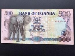 UGANDA P33 500 SHILLINGS 1991 VF+ - Oeganda