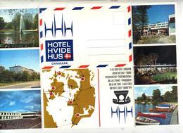 Lettre Type Aerogramme Illustré Hotel - Dinamarca