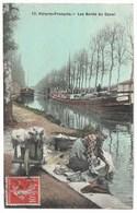 CPA 51 VITRY LE FRANCOIS Les Bords Du Canal - Vitry-le-François