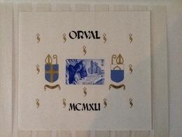 BL12** Postfris Orval. - Blocs 1924-1960