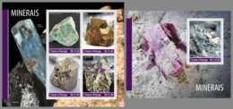 SAO TOME 2019 MNH Minerals Mineralien Mineraux M/S+S/S - OFFICIAL ISSUE - DH1948 - Minerali