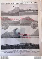 1912 AVIATION À GRENOBLE ET PAU - LEGAGNEUX - MONT SAINT EYNARD - L'ÉCOLE DE PAU - LA VIE AU GRAND AIR - Livres, BD, Revues