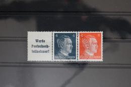 Deutsches Reich Zd W153 Gestempelt Zusammendrucke #RI507 - Zusammendrucke
