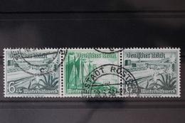 Deutsches Reich Zd W124 Gestempelt Zusammendrucke #RJ235 - Zusammendrucke