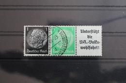 Deutsches Reich Zd W72 Gestempelt Zusammendrucke #RJ726 - Zusammendrucke