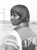 Photo Guinée Conakry. Fria Jeune Femme Militaire En Compétition Sportive Vers 1990 - Afrique