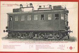 Les Locomotives Suisses  N° 113- Locomotive Electrique Type Simplon- Winterthur 200 H.P-Scans Recto Verso- - Zubehör