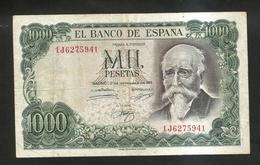 ESPANA / SPAIN / SPAGNA - El BANCO De ESPANA - 1000 PESETAS (1971) - ECHEGARAY - [ 3] 1936-1975: Franco