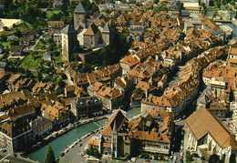 Le Vieil ANNECY - Vue Aérienne, Son Château Et Le Canal Du Thiou - Annecy