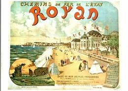 CP Chemin De Fer De L'état : Royan  - Reproduction - Spoorwegen