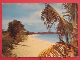 Visuel Très Peu Courant - Antigua - Runaway Beach - Scans Recto Verso - Antigua & Barbuda