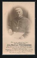FOTO - KANUNNIK ST.BAAFS  - PASTOOR O.L.VR. GENT ST.PIETERS - JAN HEYNSSENS GENT - - GENT 1925 - 2 SCANS - Overlijden