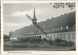 Hamburg-Rissen - Allgemeines Krankenhaus - Verlag W. Franke Hamburg - Altona