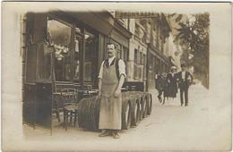 75 Paris   Carte Photo  A Localiser Ou Identifier Commerce Livraison De Vins - Frankrijk