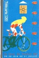 TELECARTE 120 UNITES LE TOUR DE FRANCE 96 - Sport