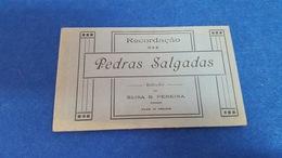 ANTIQUE PORTUGAL CARNET X10 POSTCARDS PEDRAS SALGADAS UNUSED - Vila Real