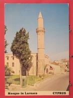 Visuel Pas Très Courant - Chypre - Larnaca - La Mosquée - Scans Recto Verso - Chipre