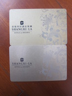 Shangri-La Hotel,China, Two Different - Hotelkarten