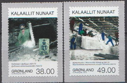 Greenland MNH Pair - Factories & Industries