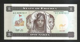 ERITREA  - STATE Of ERITREA - One NAFKA (1997) - Eritrea
