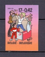 2934 KIEKEBOE STRIP ONGETAND POSTFRIS**  2000 - Belgique