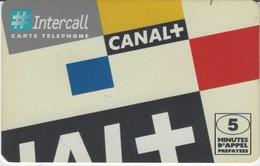Carte Prépayée - CANAL + - INTERCALL - Frankrijk