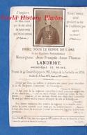 Faire-Part De Décés De 1874 - Mgr Jean François Anne Thomas LANDRIOT Archevêque De REIMS - Eveque De LA ROCHELLE - Overlijden