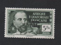 Faux Afrique équatorale N° 125b Triple Surcharge Gomme Sans Charnière - A.E.F. (1936-1958)