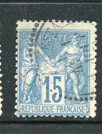 Rare N° 90 Cachet à Date Perlé D'Estang ( Gers ) - 1876-1898 Sage (Type II)