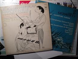 GEORGE GERSHWIN. PAIRE DE 33 TOURS. 1967 / 1976 MERCURY 131 017 MSY / CBS 76 509. DONT LA POCHETTE EST ILLUSTREE PAR HI - Jazz