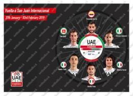 Ukraine | Postcard | 2019 Giro D'Italia | Cycling | UAE Team Emirates - Cycling