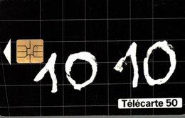 TELECARTE 50 UNITES APPELEZ LE 10 10 - Telecom Operators
