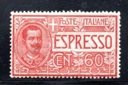 Y217 - REGNO 1922 , Espresso Il N. 7  *  Mint - 1900-44 Victor Emmanuel III.
