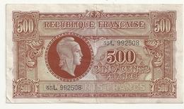 500 Francs (Marianne)1945 L - Tesoro