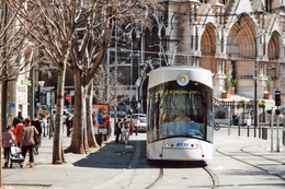 Marseille (13) 04/04/2009 Tramway De Marseille - Ligne T2 Station Réformés Canebière - Rame Flexity Outlook Type C - Tranvía