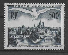 1947 - POSTE AERIENNE - YVERT N°20 ** MNH - COTE = 65 EUROS - UPU - Airmail