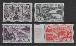1949 - POSTE AERIENNE - YVERT N°24/27 ** MNH - COTE = 116 EUROS - - Airmail