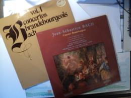 JEAN SEBASTIEN BACH. LOT DE DEUX 33 TOURS. ANNEES 70 / 80 MUSIDISC 30 RC 649 / MFP 6050. CONCERTOS BRANDEBOURGEOIS N4 / - Clásica
