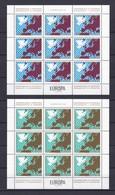 Jugoslawien - 1977 - Michel Nr. 1692/93 - Kleinbogensatz - Postfrisch - 1945-1992 Sozialistische Föderative Republik Jugoslawien