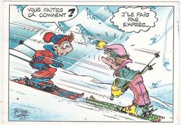 Humour / LES JOIES DES SPORTS D'HIVER / Philippe LUGUY - 1999 - Humour