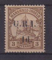 MARSHALL : OCCUPATION BRIT . N° 26 * . SIGNE CHAMPION  . 1914 . ( CATALOGUE YVERT ) . - Otros