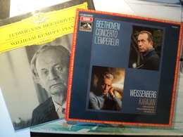 LUDWIG VAN BEETHOVEN. LOT DE DEUX 33 TOURS. ANNEES 60 / 70 DEUTSCHE GRAMMOPHON 139 301 / EMI 2 C 069 025 35. SONATES 21 - Classical