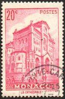 Monaco Obl. N°  169 Cathédrale - Gebruikt