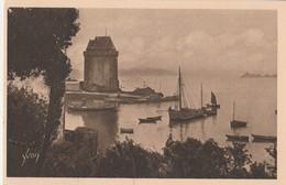 CPA   35    SAINT MALO   H 213  - LE PORT   SAINT PERE ET LA TOUR - Saint Malo