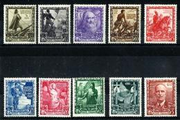 Italia Nº 419/28 En Nuevo. Cat.200€ - 1946-60: Mint/hinged