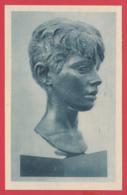 CPA-Alger- Pierre POISSON - Tête D'Adolescent- Musée Des Beaux Arts D'ALGER** 2 SCANS - Musées