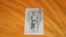 CARTE POSTALE ANCIENNE CIRCULEE DE 1905.../ LE PETIT TELEPHONE..FEMME ..BERGERET..CACHET + TIMBRE - Bergeret