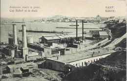 BAKOU - Cap Baïloff Et Le Dock - Azerbeidzjan