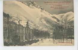 LES SPORTS D'HIVER DANS LES PYRENEES - Le Concours International De Ski De CAUTERETS - Départ De La Course De Dames - Cauterets