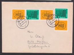 Germany Leipziger Messe 1964 DDR W Zdr. 122, Mit Senkr. Zdr Aus Lichte, Portorichtig - [6] República Democrática